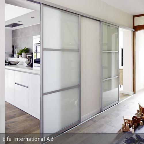 Innenarchitektur offene küche  Raumteiler | Türen, Küche und Flure