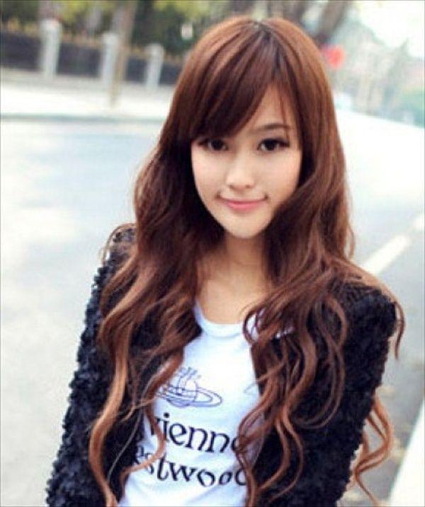 Long Hairstyle For Korean Girls Long Hair Girl Stylish Hair Asian Hair