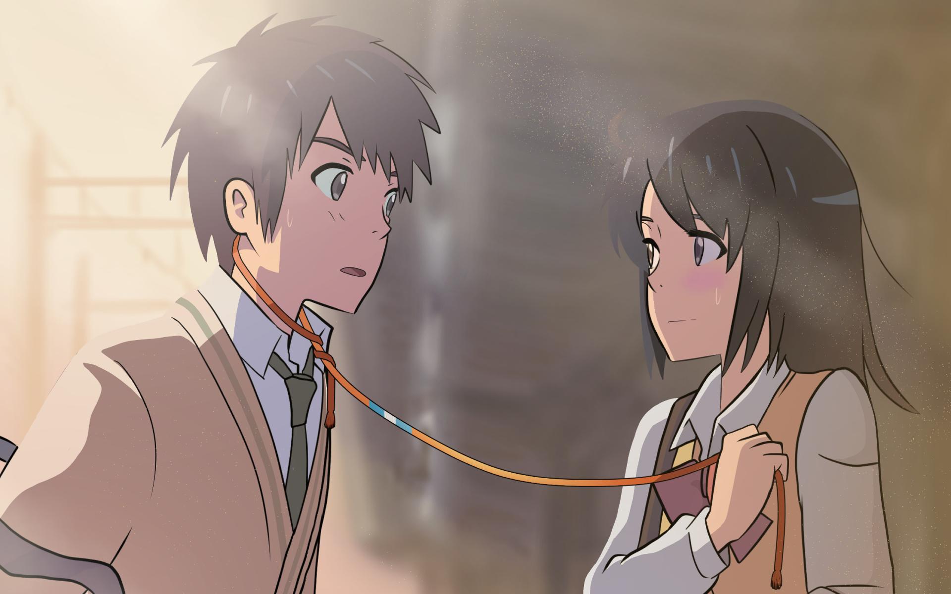 Anime Couple Names anime your name. mitsuha miyamizu taki tachibana kimi no na