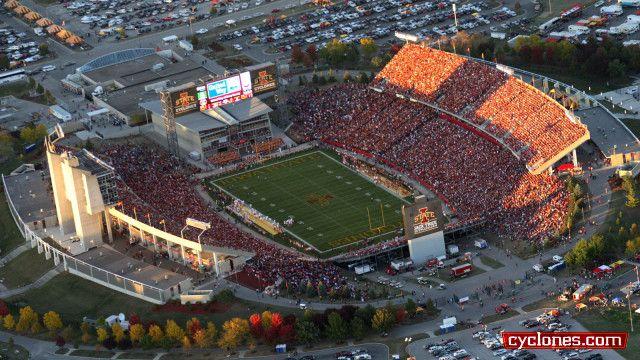 Jack Trice Stadium Iowa State University Athletics Official Web