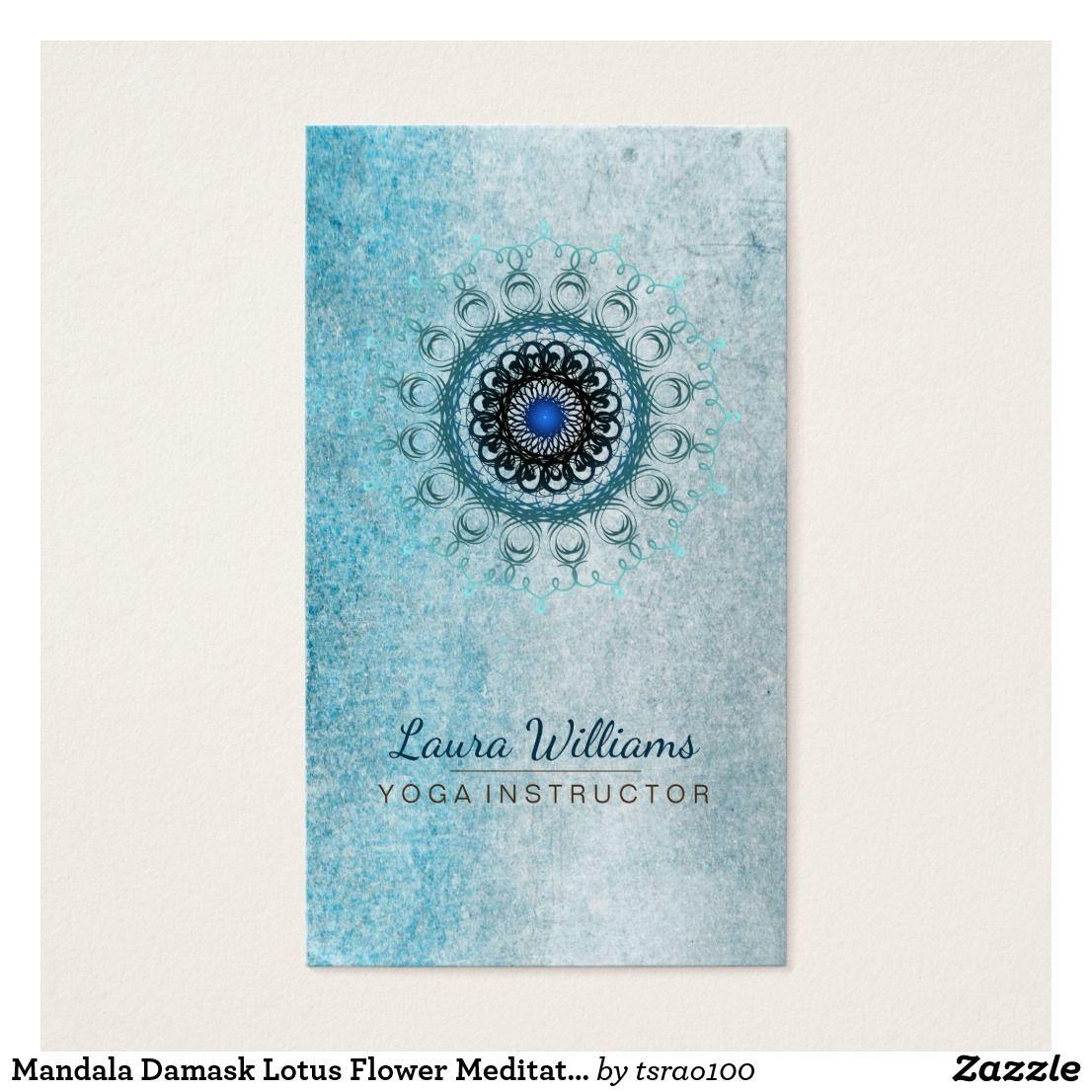 Mandala Damask Lotus Flower Meditation Holistic | Damask Mandala ...