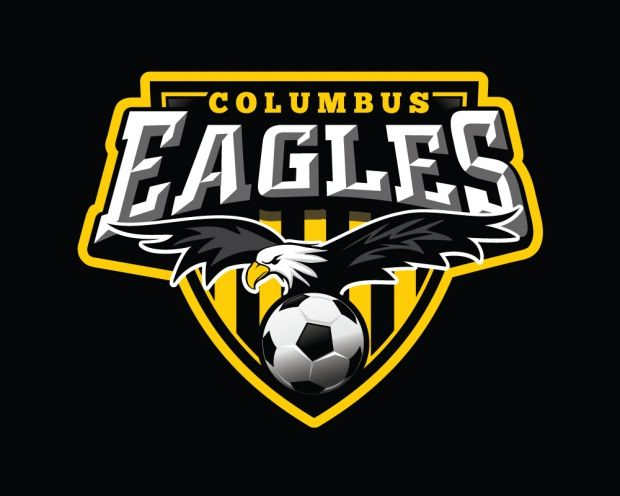 Columbus Eagles Ohio Conf Valley Columbuseagles Ohio Wpsl L10167 Soccer Logo Sports Logo Soccer