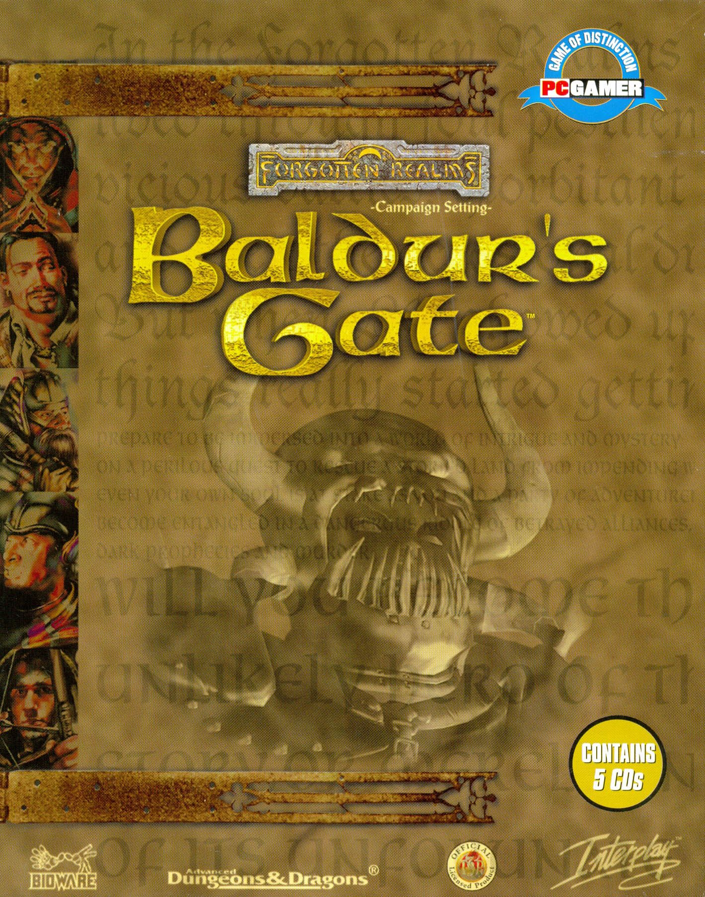Baldur's Gate Baldur's gate, Dungeons and dragons, Video
