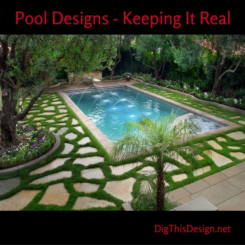 Oh, how I LOVE my pool. I have parties around it, relax in it and ...