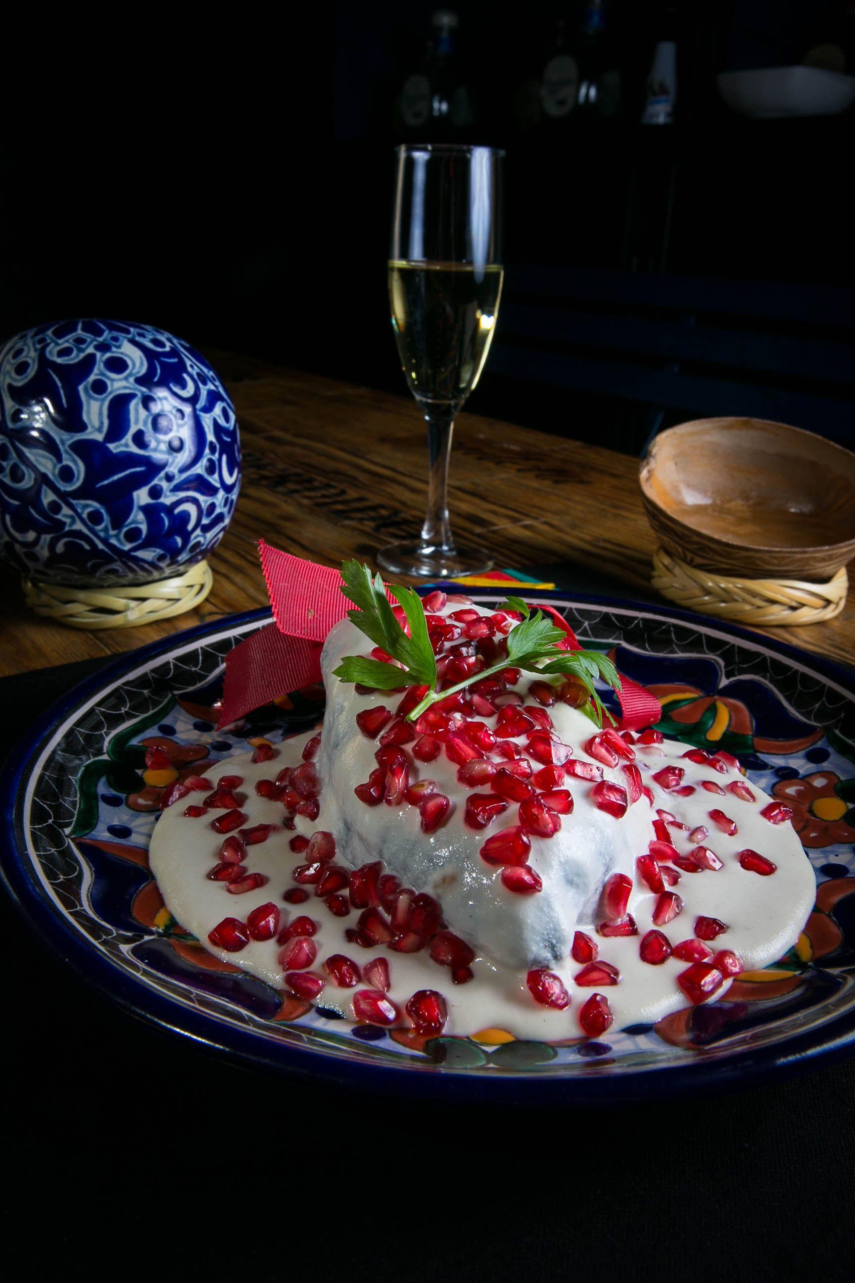 Chiles en nogada | Comida Mexicana | Pinterest