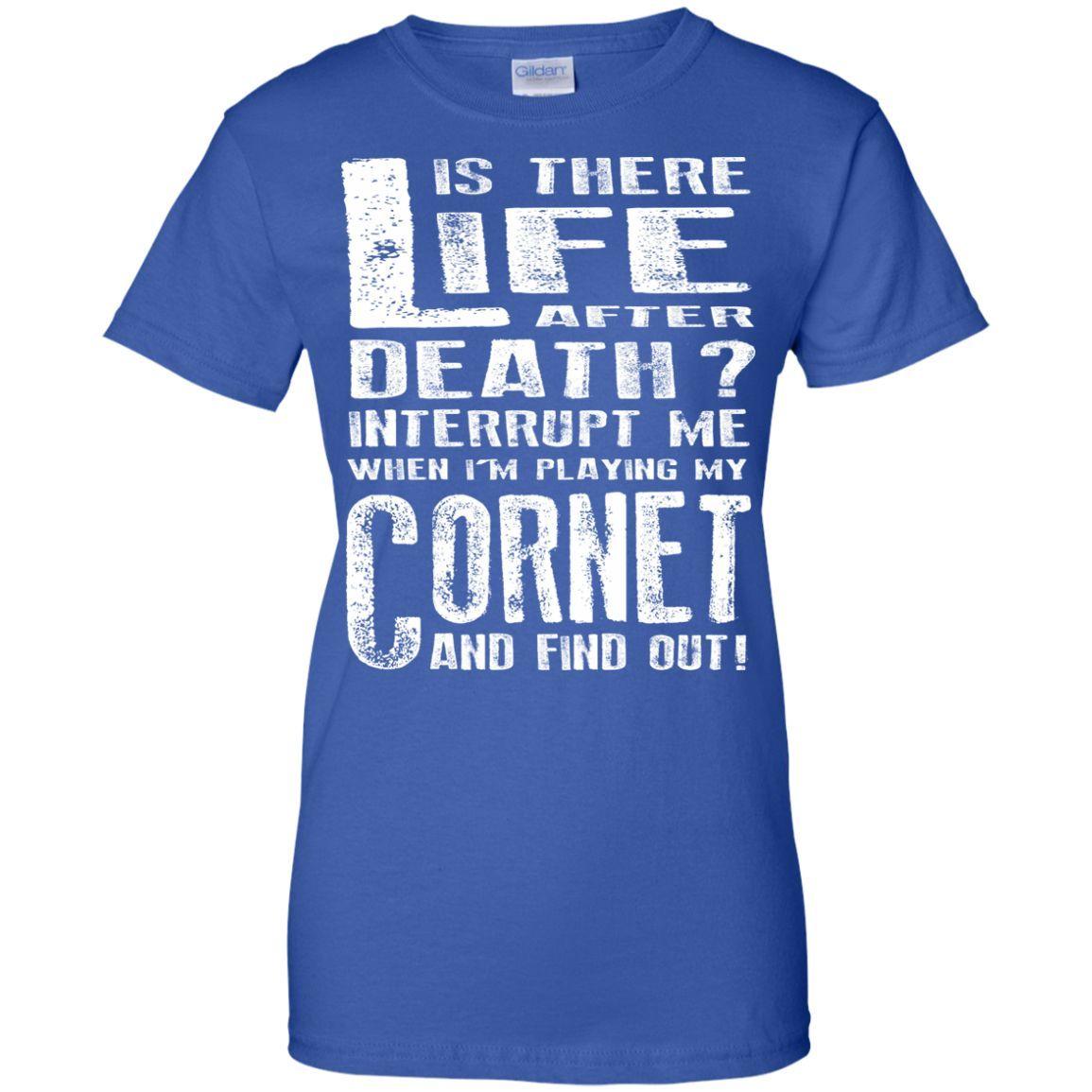 Don't Interrupt Me - Cornet T-Shirt