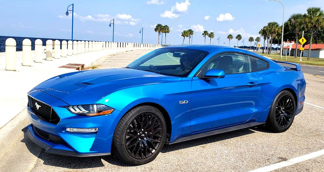 2019 Mustang Gt Pp1 In Velocity Blue Blue Mustang Mustang Gt