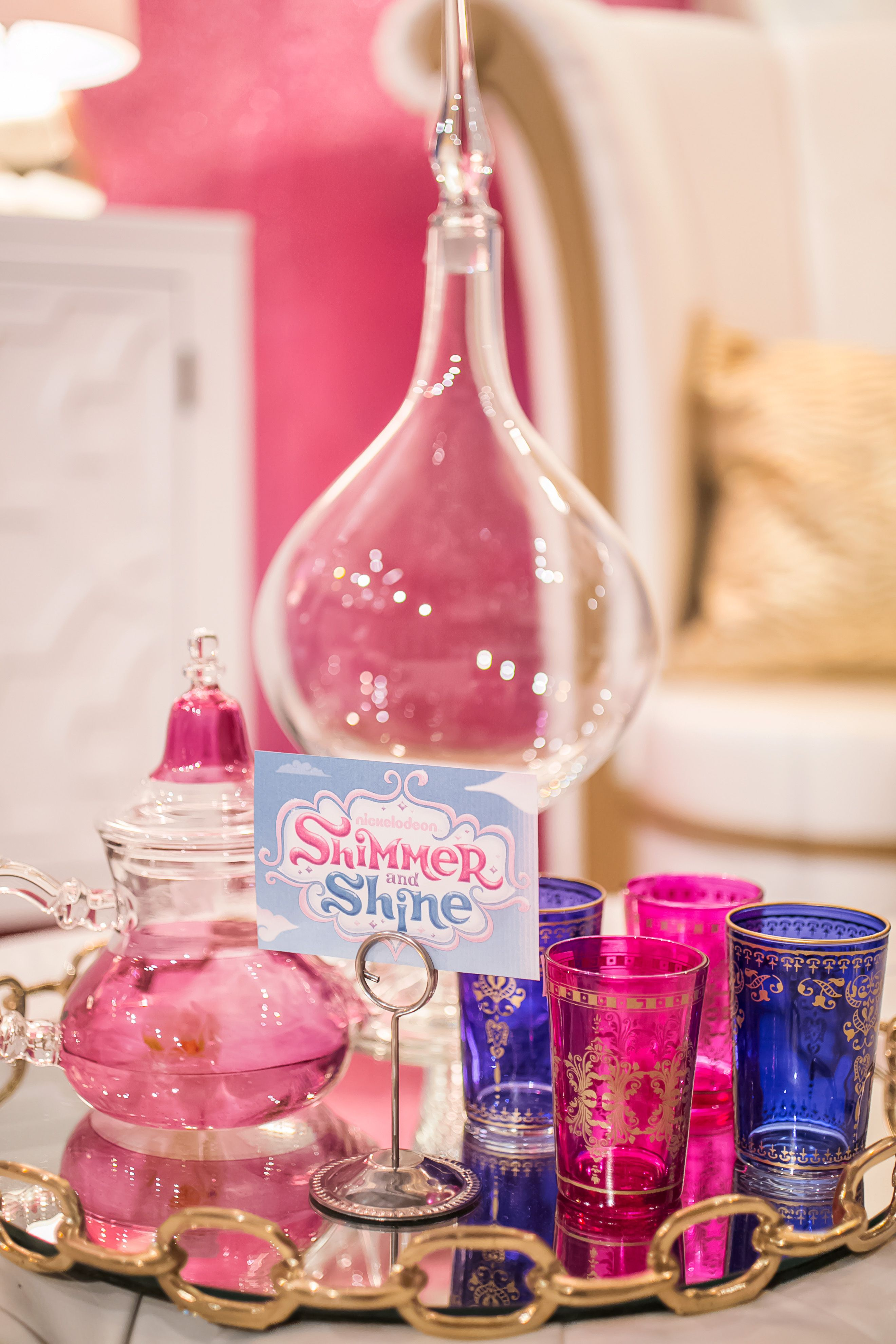 Shimmer and Shine, Design on a Dime! | Genie lamp, Tea ...