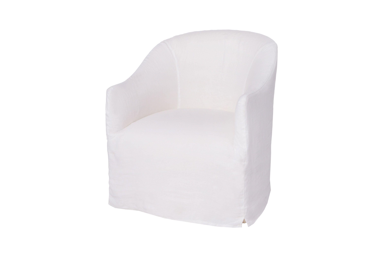 "Cali Chair 27""w x 31""h x 30.5""d Seat Space: 21""w x 21""d x 17.5""h"