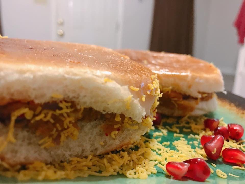 Dabeli pav recipe sweet potato burgers snacks