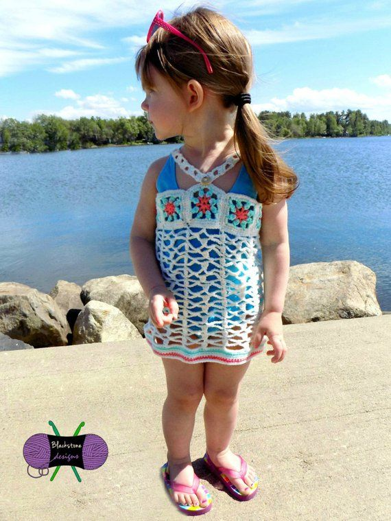 e42cfbcc68 Island Princess Swimsuit Cover - PDF crochet pattern - beach