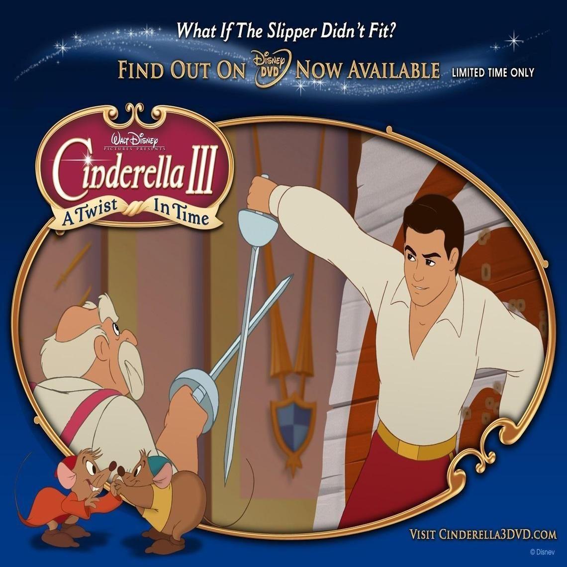 Cinderella 3 A Twist In Time Cinderella 3 Cinderella Fairy