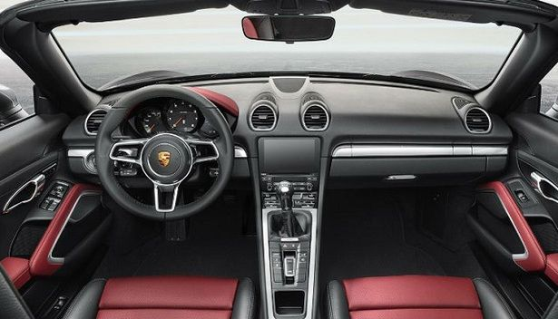 2017 Porsche Boxster   Interior