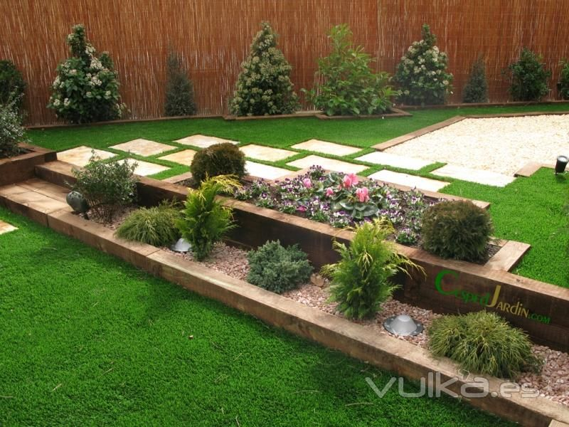 Dise o jardines buscar con google terraza jardin con - Fotos de cesped artificial ...