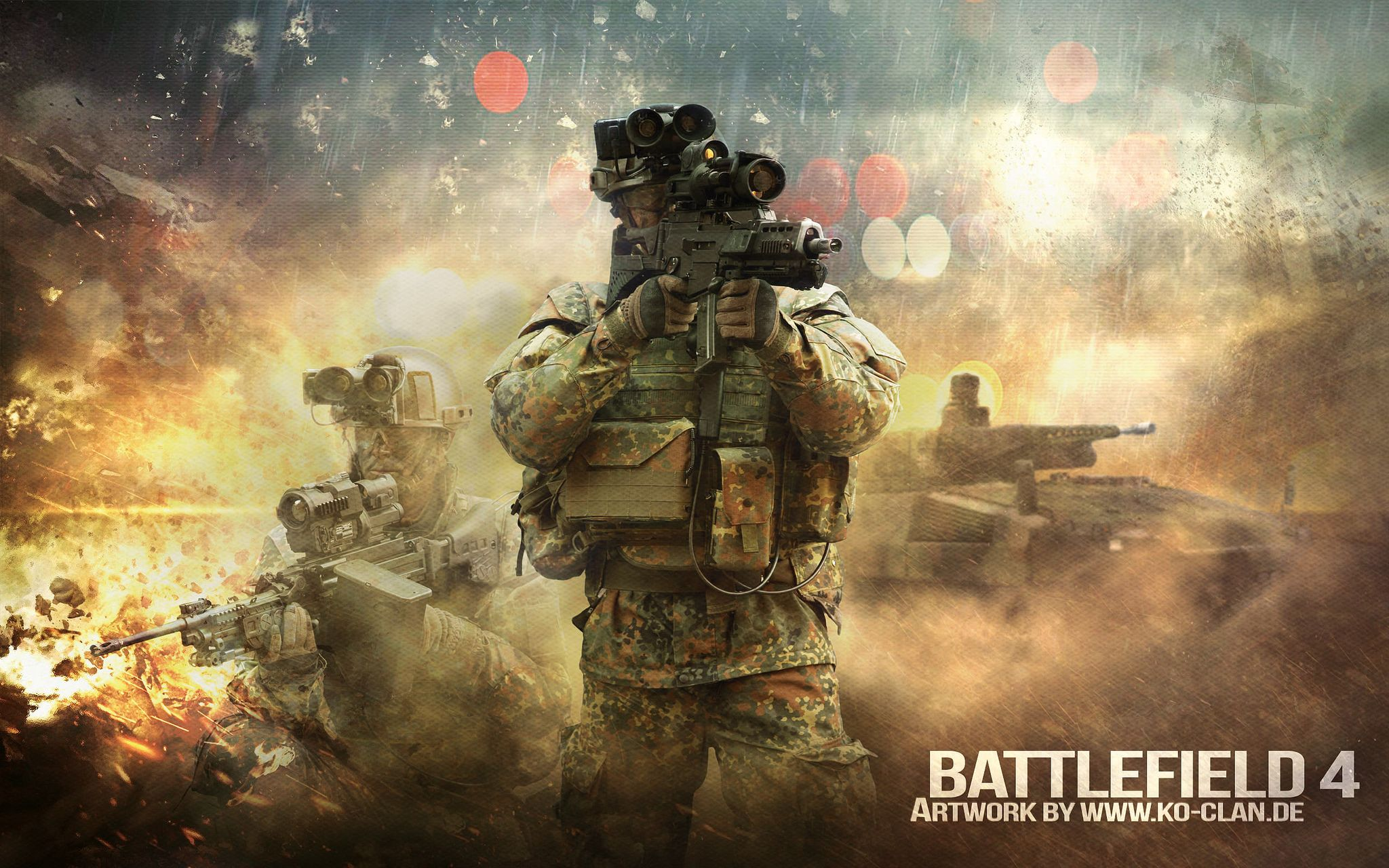 soldier military battlefield 4 wallpaper-artwork | video games