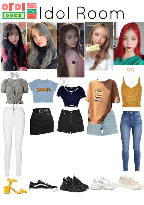 My Fake Kpop Girl Group Kpop Fashion Outfits Korean Fashion Kpop Inspired Outfits Kpop Outfits