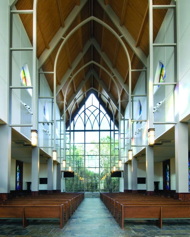 Fellowship Of The Woodlands Texas Worship Facilities Magazine