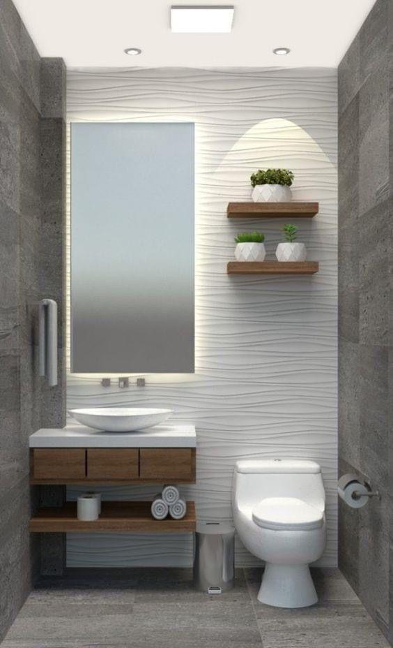 Guest Bathroom Small W Storage Bathroom Decor Luxury Restroom Decor Bathroom Design Small