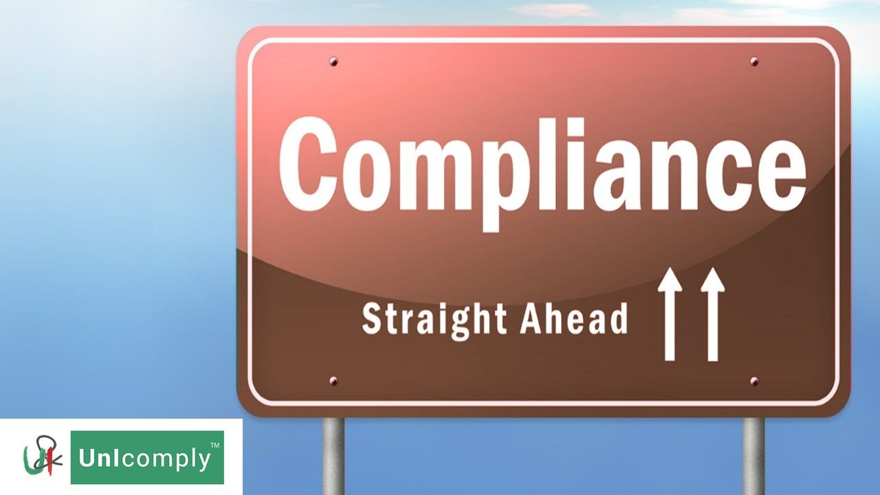 U n I Comply is your partner in #compliance!    We ensure that your #business complies with all #rules, #law & order!