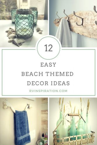 12 Beach Themed Rv Decor Ideas With Images Beach Cottage Decor