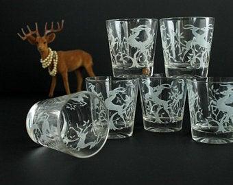 Vintage federal glass Etsy Glass, Shot glass, Vintage