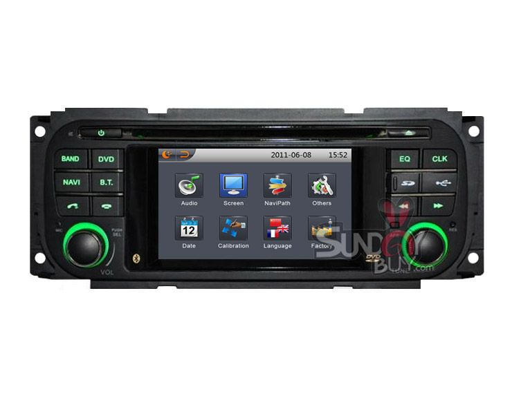 Autoradio Car Dvd Player Gps Navigation Stereo For Dodge Neon With