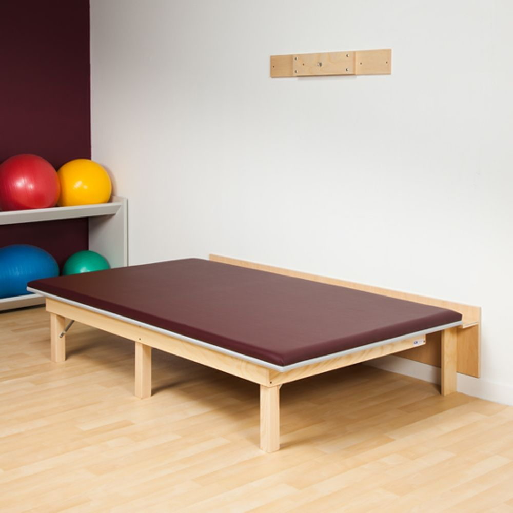 Folding Physical Therapy Mat Platform 84 X 60 Folding Mat Physical Therapy Therapy Room