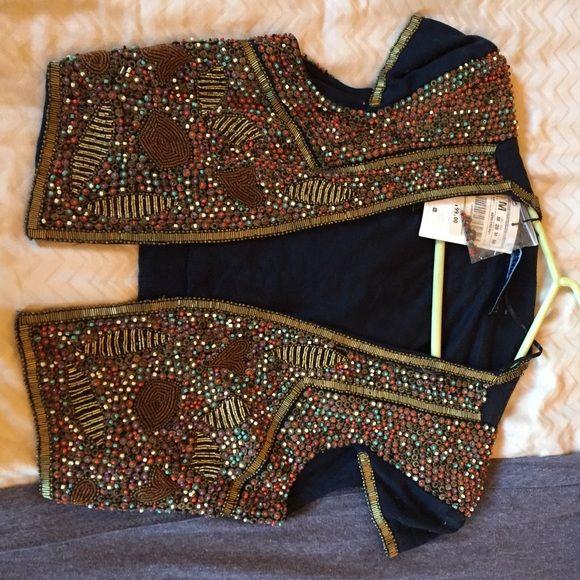 Zara bolero Amazing bolero. Perfect for a casual look or to dress up! Zara Jackets & Coats