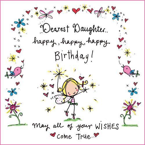 Birthday Clipart Daughter 17 Jpg 500 500 Pixels Cute Birthday Wishes Cute Happy Birthday Happy Birthday Greetings