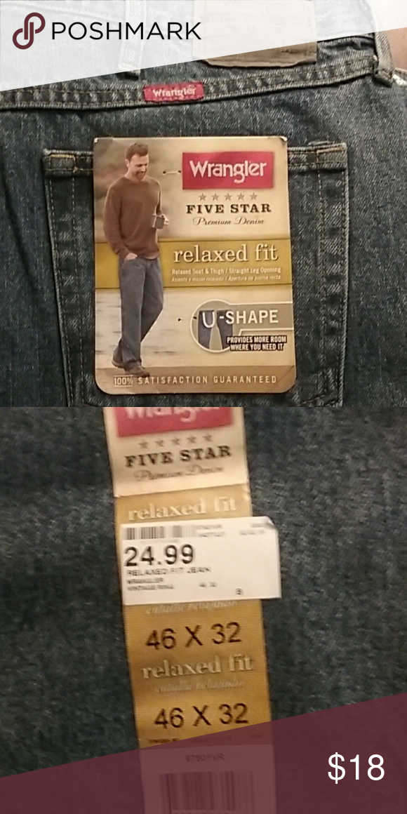 684d55ca Men's jeans Dark denim. Relaxed fit. Relaxed seat and thigh. Straight leg  size