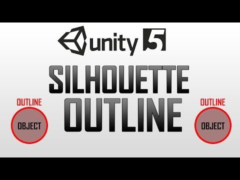 Silhouette Highlight / Outline / Glow Diffuse Shader in