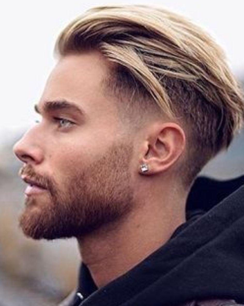 2017 2018 blond herfst opgeknipt opgeschoren stijl undercuts · Coiffure  Homme