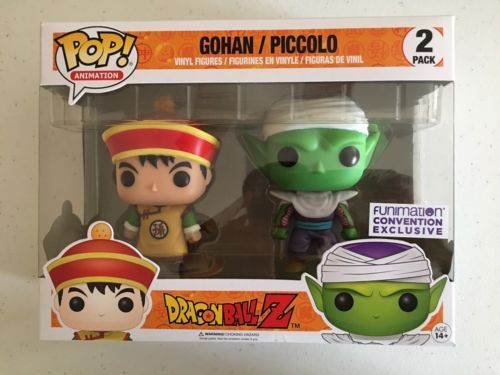 Music 175691: Sdcc 2017 Funko Pop Dragon Ball Z - Gohan And Piccolo 2-Pack Convention Exclusive -> BUY IT NOW ONLY: $40 on eBay!