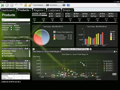 qlikview for ipad at the fingertips pinterest