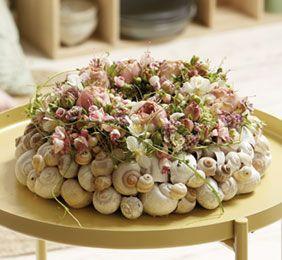 Liebliche Blütenkränze