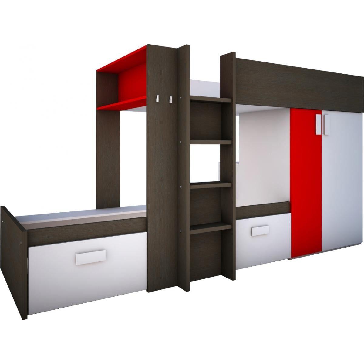 Cama Tren Wifi En Conforama Literas Dobles Dormitorios Literas Con Almacenamiento