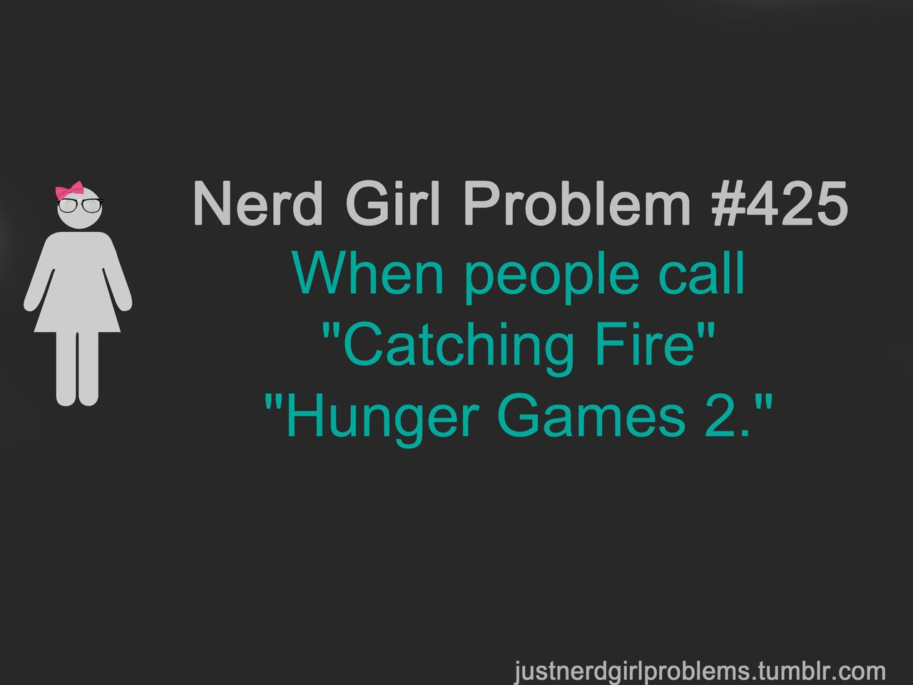 then again, if people aren't following the Hunger Games then it kind of makes sense, still kind of sad.