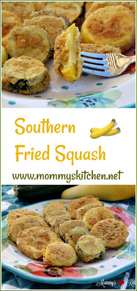Southern Fried Squash (A Southern Staple)