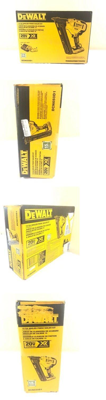 Nail And Staple Guns 122828 Dewalt Dcn650d1 20 V Max Lithium Ion Brushless 15 Gauge Finish Naile Fkt001772 Dewalt Staple Guns Installing Hardwood Floors