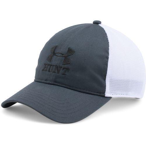 7ba9e0d1de2 Under Armour Logo Hunt Mesh Snap Back Hat Cap (Stealth)