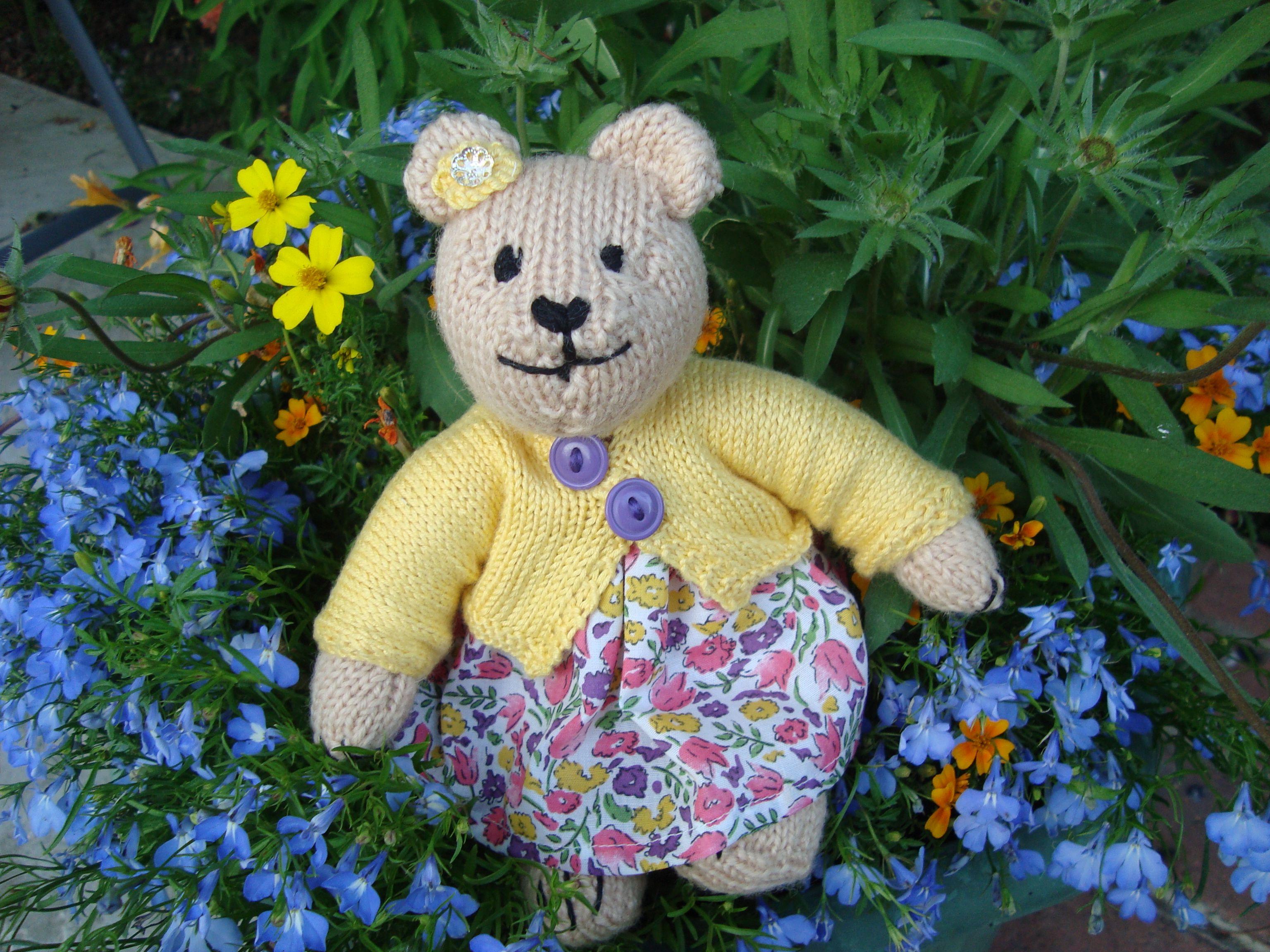 Daisy Bear . She is my favourite bear .