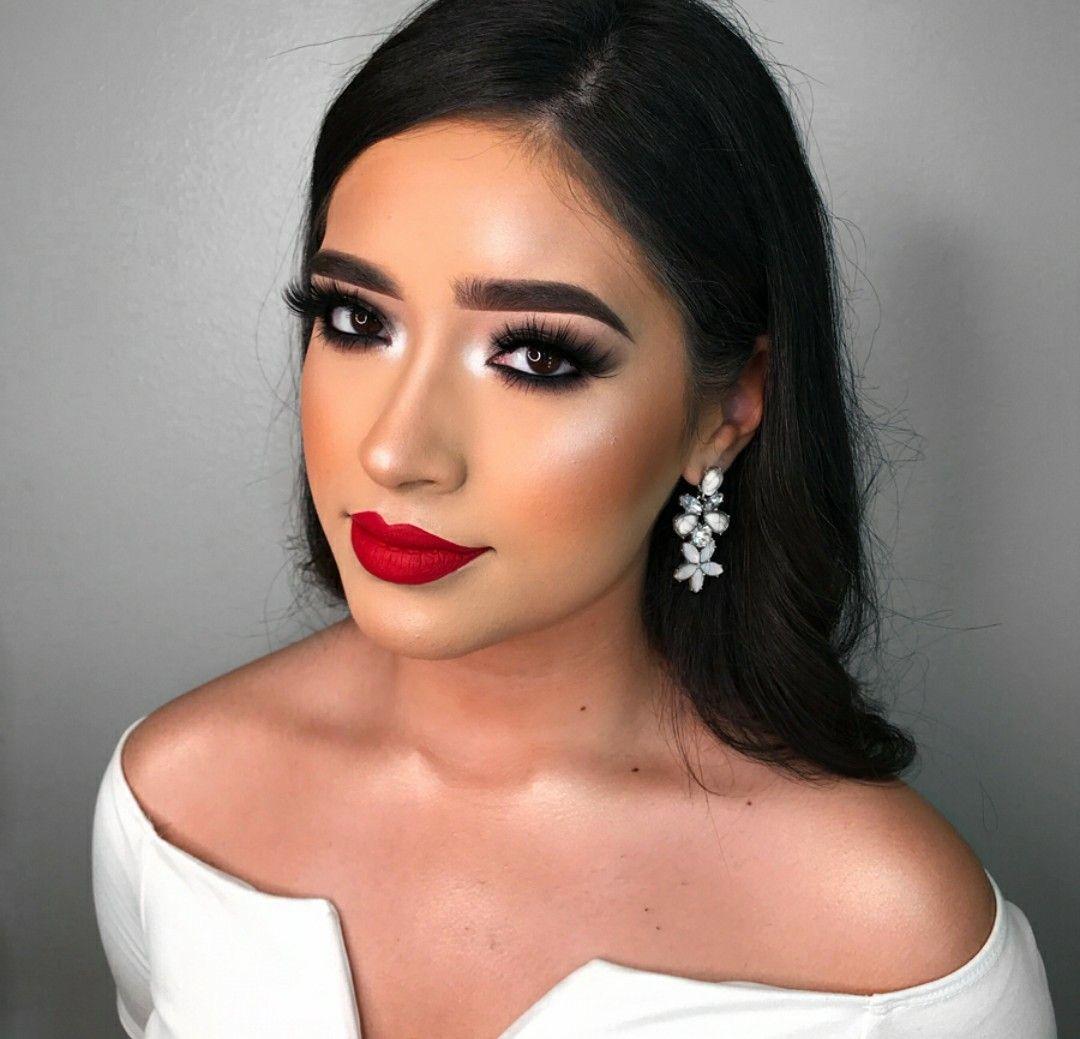 Makeup Red Lipstick Makeup Red Dress Makeup Red Lip Makeup