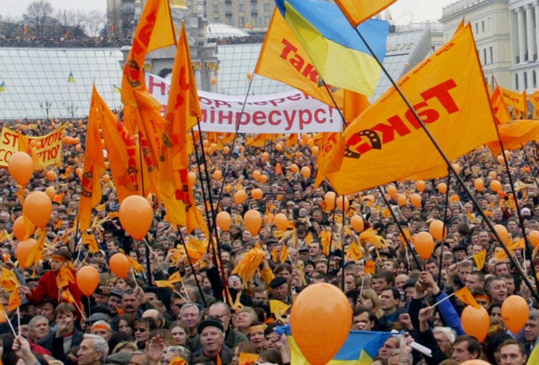 Orange Revolution Ukraine   Orange revolution, Orange, Pumpkin patch