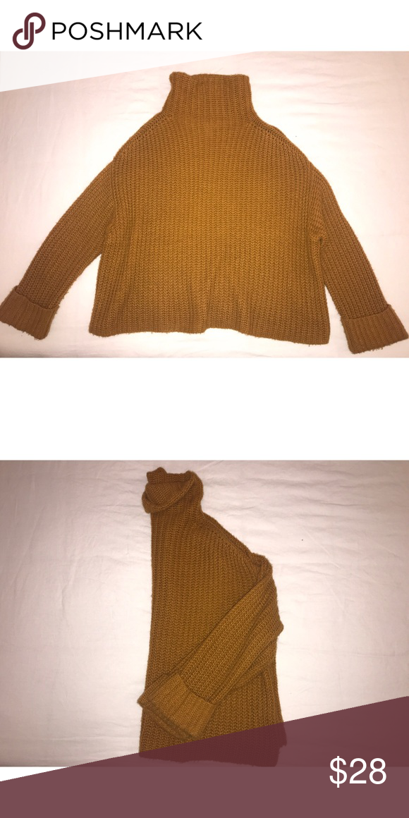 6d1829a83 Oversized LEITH Turtleneck Sweater