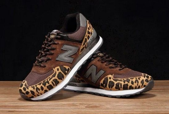 new balance 574 leopard