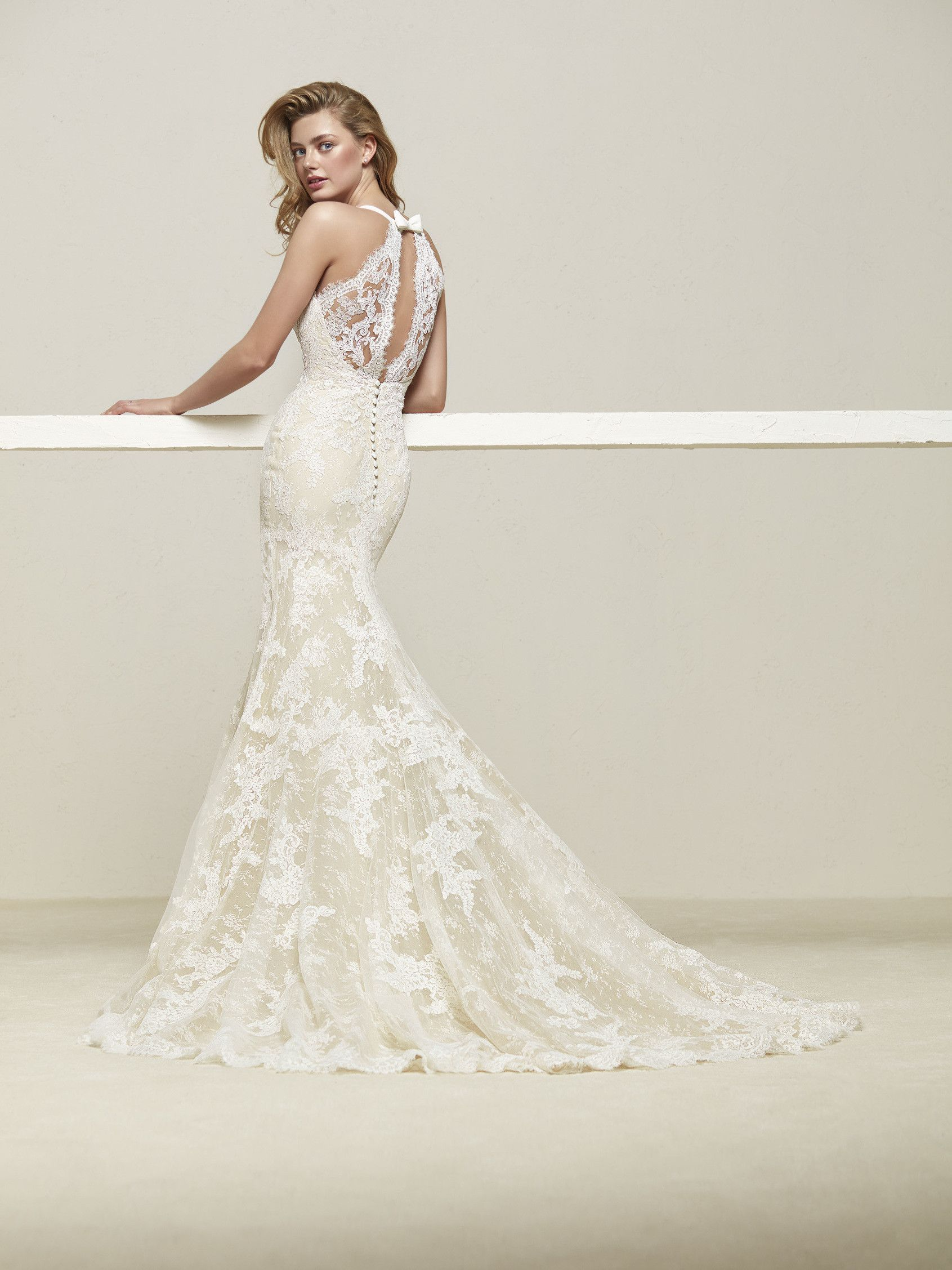 Drilos from Pronovias is available at Sincerely, The Bride located ...