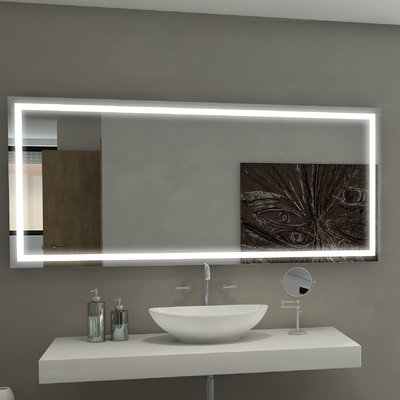 Paris Mirror Harmony Illuminated Bathroom Vanity Wall Mirror Mirror Wall Bedroom Modern Mirror Wall Mirror Design Wall