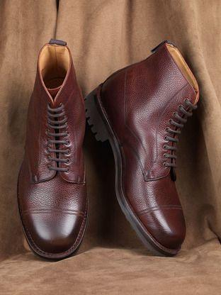 71b59b6848d Joseph Cheaney & Sons, Pennine IIR Shoe. Veldtschoen Commando rubber sole,  and a rubber heel.