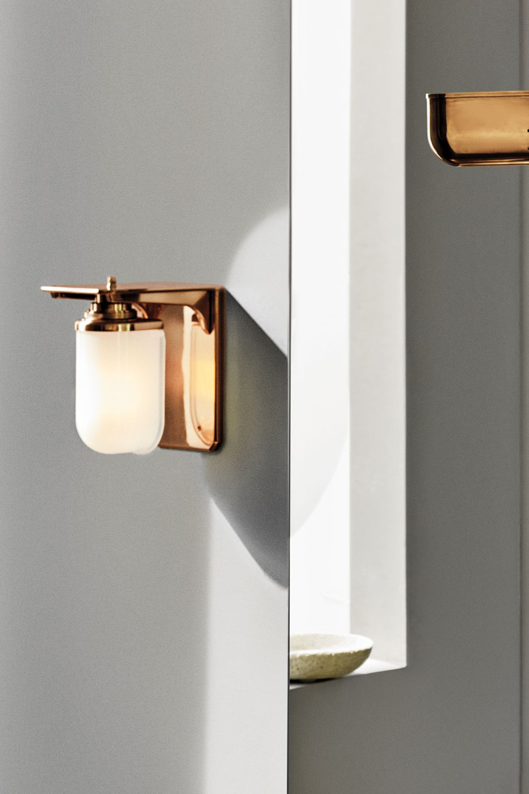 R W Atlas Wall Mounted Single Arm Sconce With Glass Shade In 2020 Glass Shades Glass Pendant Light Wall Mounted Light
