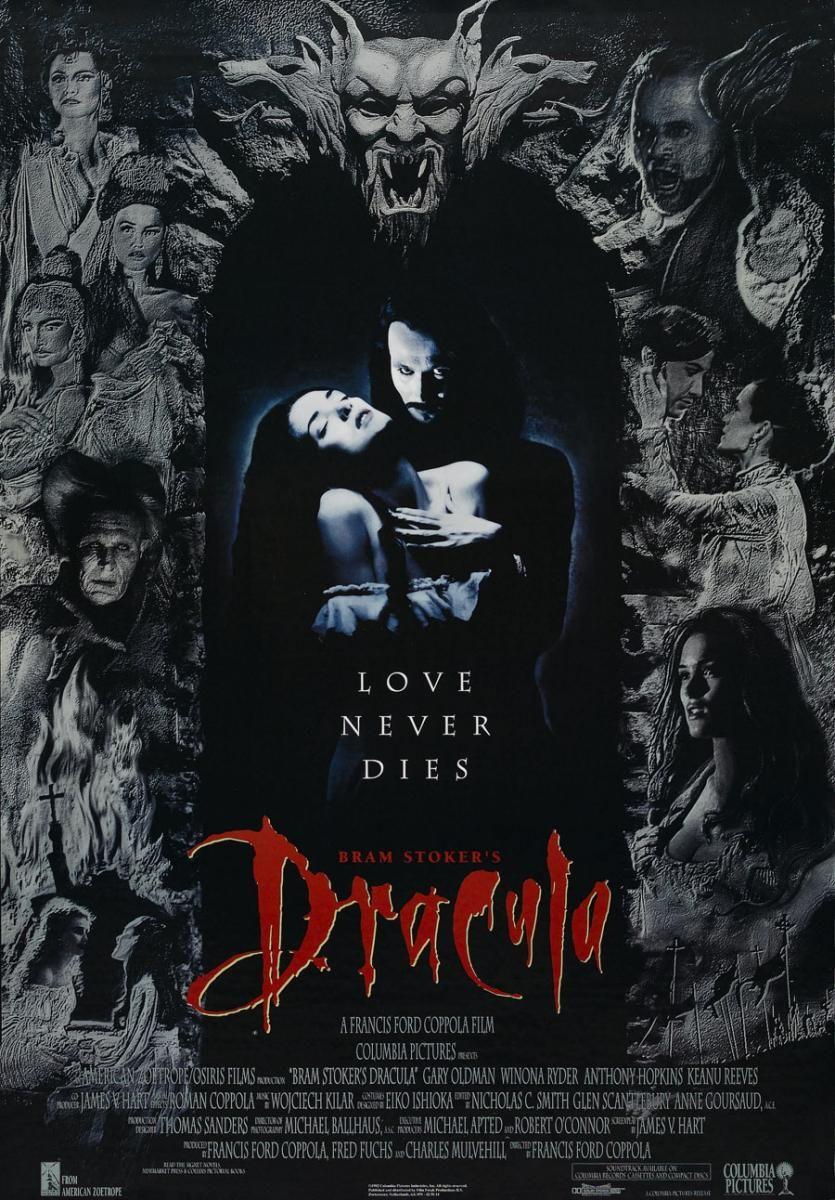 Dracula De Bram Stoker Bram Stoker S Dracula 1992 Francis Ford Coppola Peliculas De Terror Cine De Terror Dracula De Bram Stoker